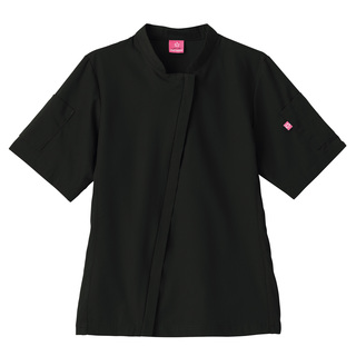 Five Star Angle Zip Front Chef Coat-Five Star