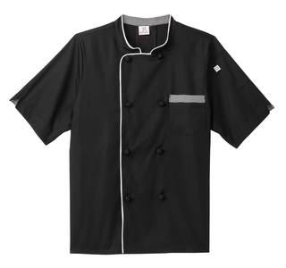 Five Star Short Sleeve Executive Chef Coat-Five Star Chef