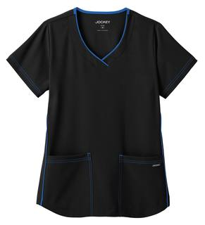 Jockey Scrubs Stretch Sporty V-Neck Top-