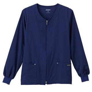2378 Jockey Ladies Riveting Warm Up Jacket-Jockey Scrubs