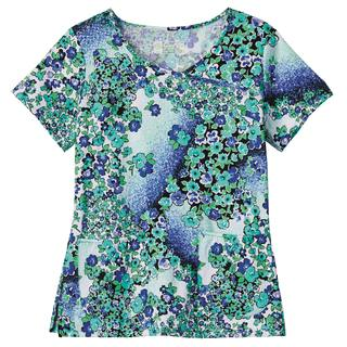 Bio Prints Crossover Top-BIO