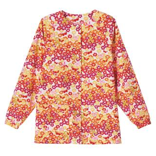 Bio Prints Raglan Sleeve Warm Up Jacket-