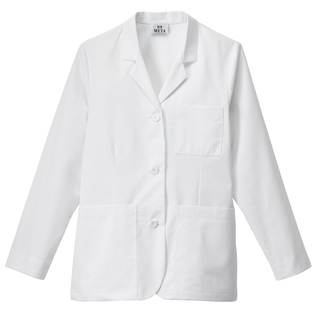 "28"" Meta Women's iPad Pocket Consultation Coat-Meta"