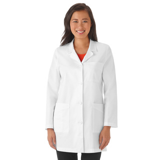 "Meta 32"" Stretch Labcoat-"
