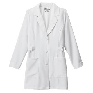 883_Meta Pro 32 Buckle Stretch Labcoat-
