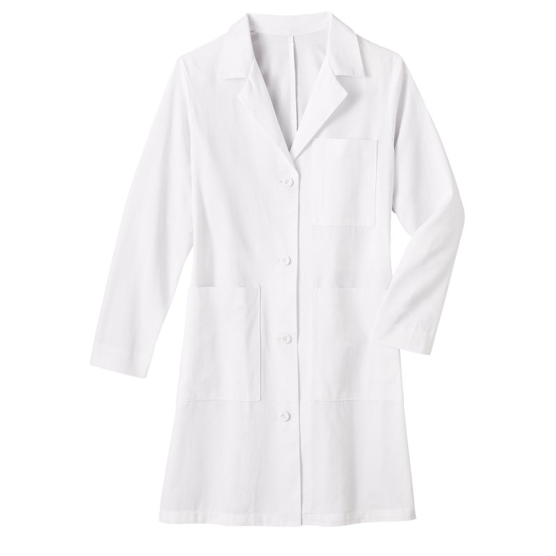 "651 Meta Mens 38"" Cotton Long Labcoat"