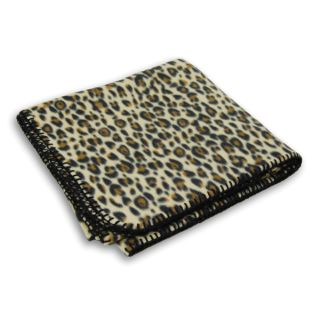 Animal Print Fleece Blanket-Wolfmark Neckwear