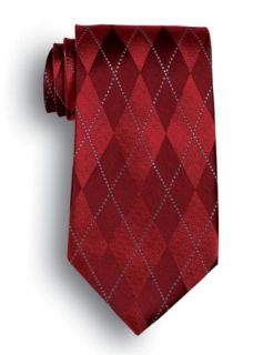 Argyle Silk Tie-Wolfmark Neckwear