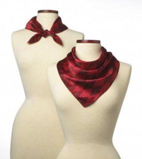 """Argyle Silk Scarf - 21""""X 21""""-Wolfmark Neckwear"""