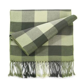 Plaid Bamboo Muffler-