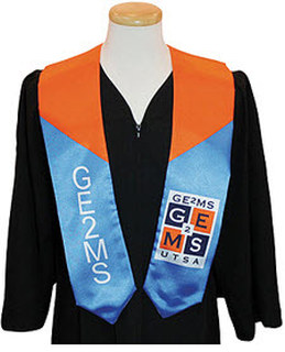 "Custom Logo Graduation Sash-5"" X 60""-"