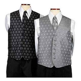 C830-775-223 Custom Woven Men's Logo Vests-