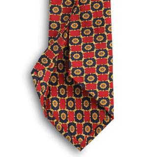 Custom Wet Dye Seven Fold Tie-