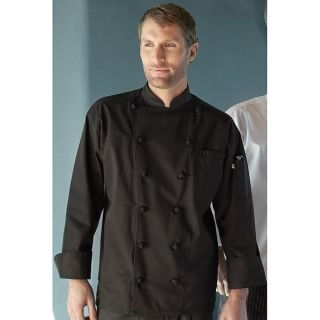 100% Cotton Executive Chef Coat With 12 Knot Buttons-Wolfmark Neckwear