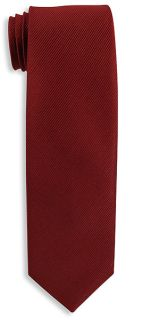 Capelle Collection Woven Polyester Narrow Tie-