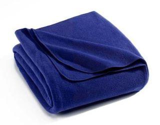 Solid Color Eco-Fleece Throw Blanket-