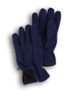 Fleece Zipper Gloves