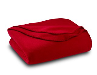 Solid Color Polar Fleece Throw Blanket-