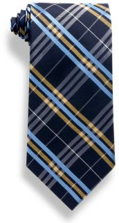 Plaid Polyester Tie-