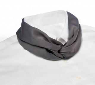 Solid Color Polyester Knot Scarf-