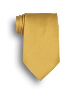 Solid Color Silk Tie-