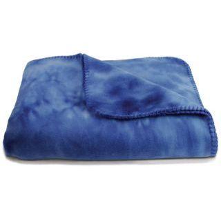 Tie-Dye Fleece Throw Blanket-