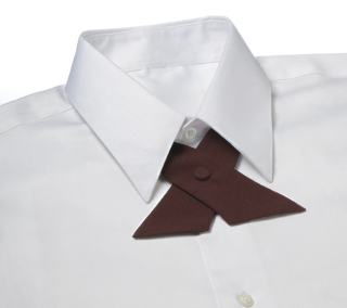 Uniform Poplin Crossover Tie-