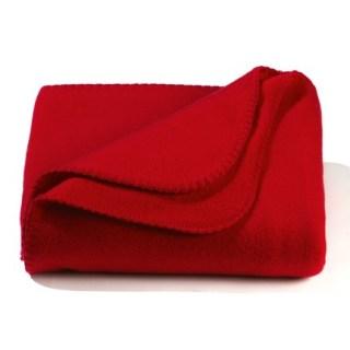 Solid Color Value Fleece Throw Blanket-