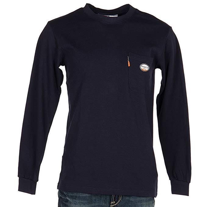 Rasco Long Sleeve T-Shirt - Navy-