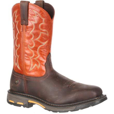 Ariat WorkHog Steel Toe Work Boot-Ariat Boots