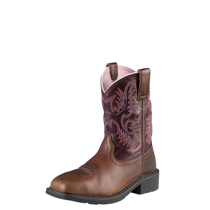 Krista Steel Toe Work Boot-Ariat Boots