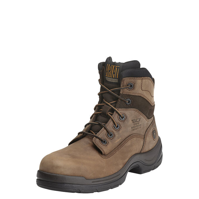 "Ariat FlexPro 6"" SD Composite Toe Work Boot-Ariat Boots"