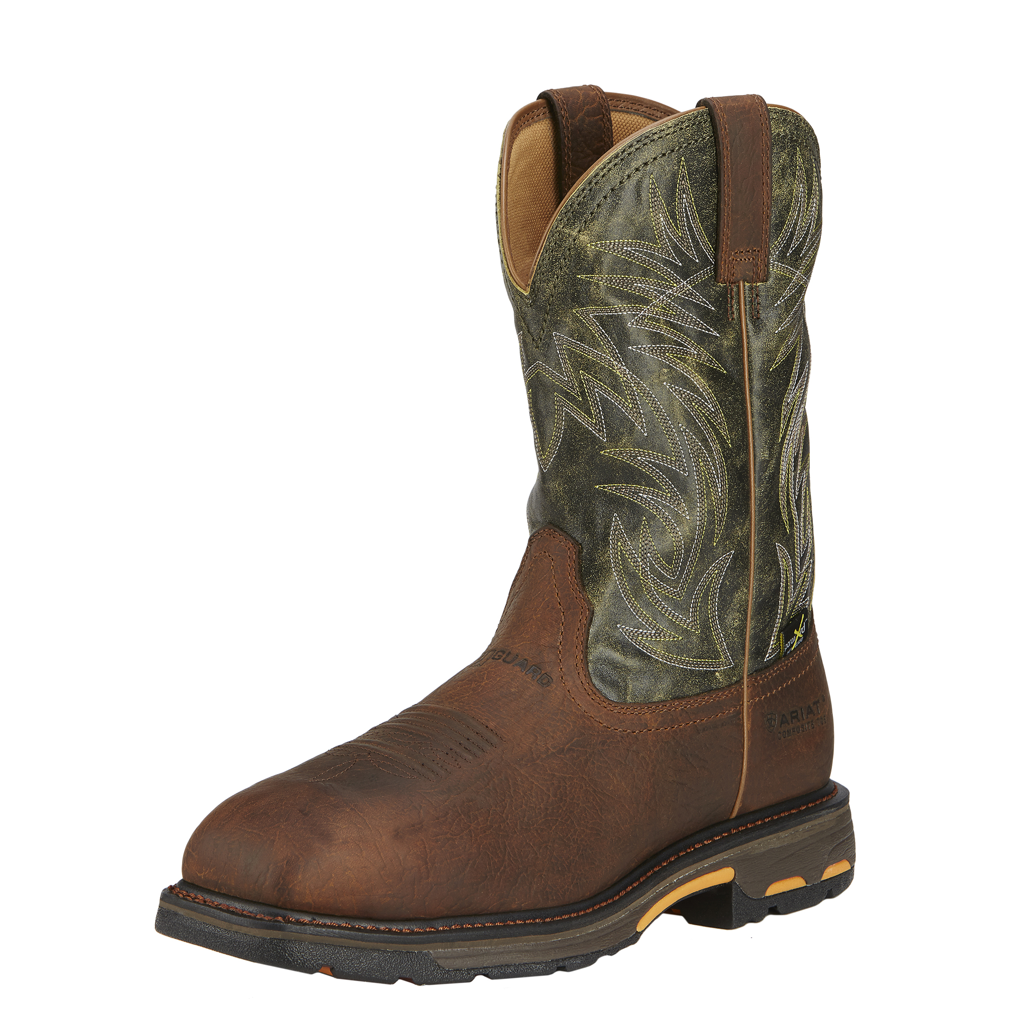 WORKHOG WIDE SQUARE TOE METGUARD-Ariat Boots