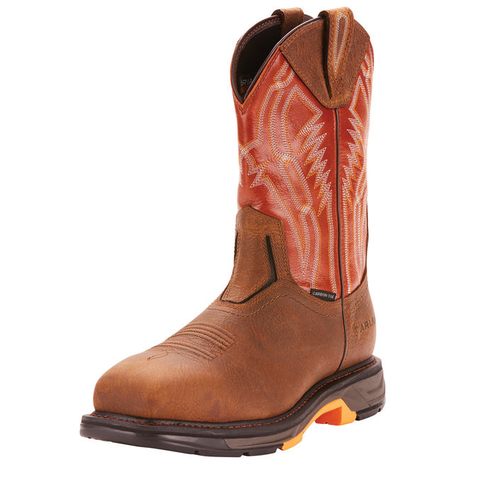 Ariat MEN'S WorkHog XT Dare Carbon Toe Work Boot-Ariat Boots