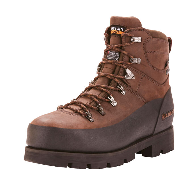 "Ariat Linesman Ridge 6"" GORE-TEX 400g Composite Toe Work Boot-Ariat Boots"