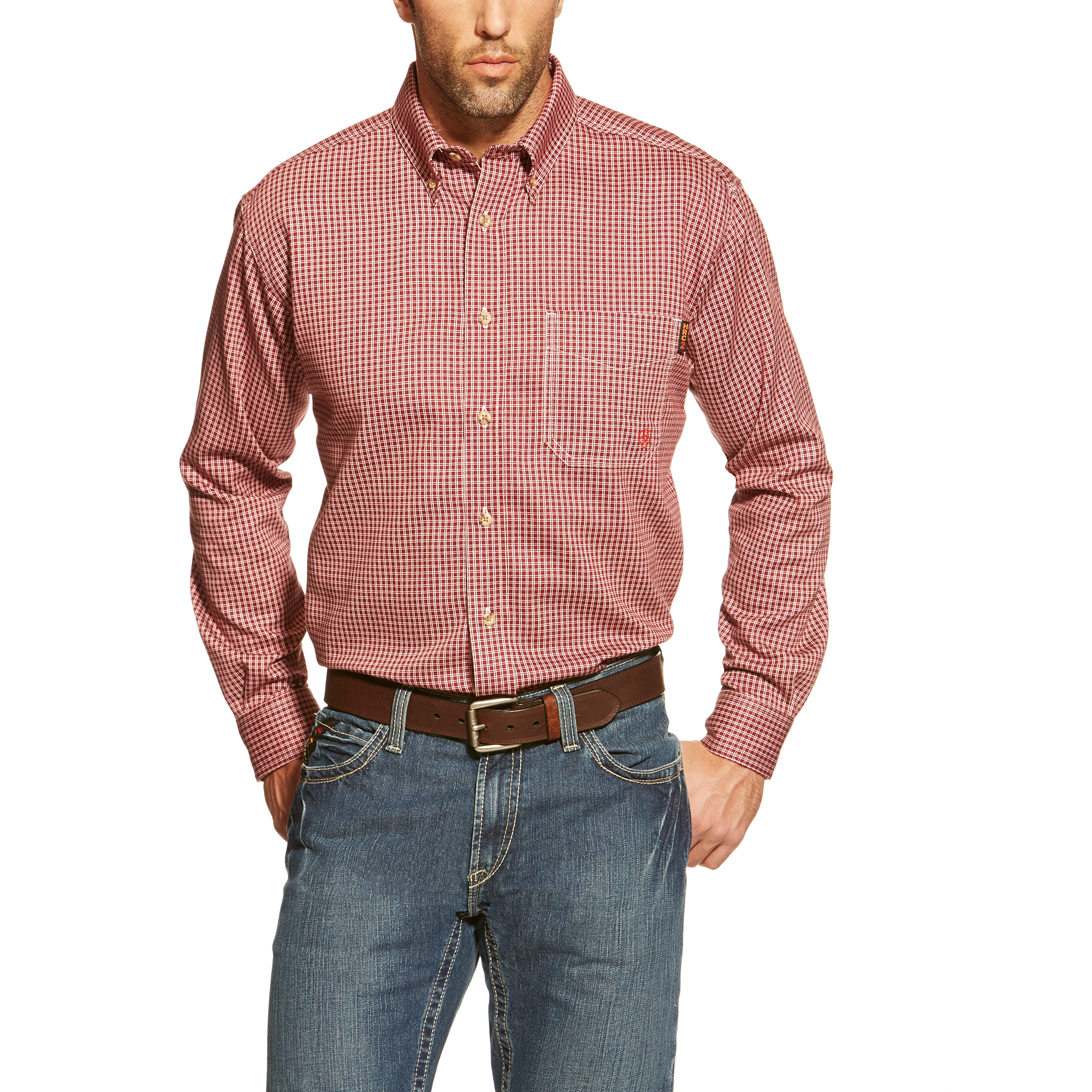 Ariat FR Bell Work Shirt-Ariat