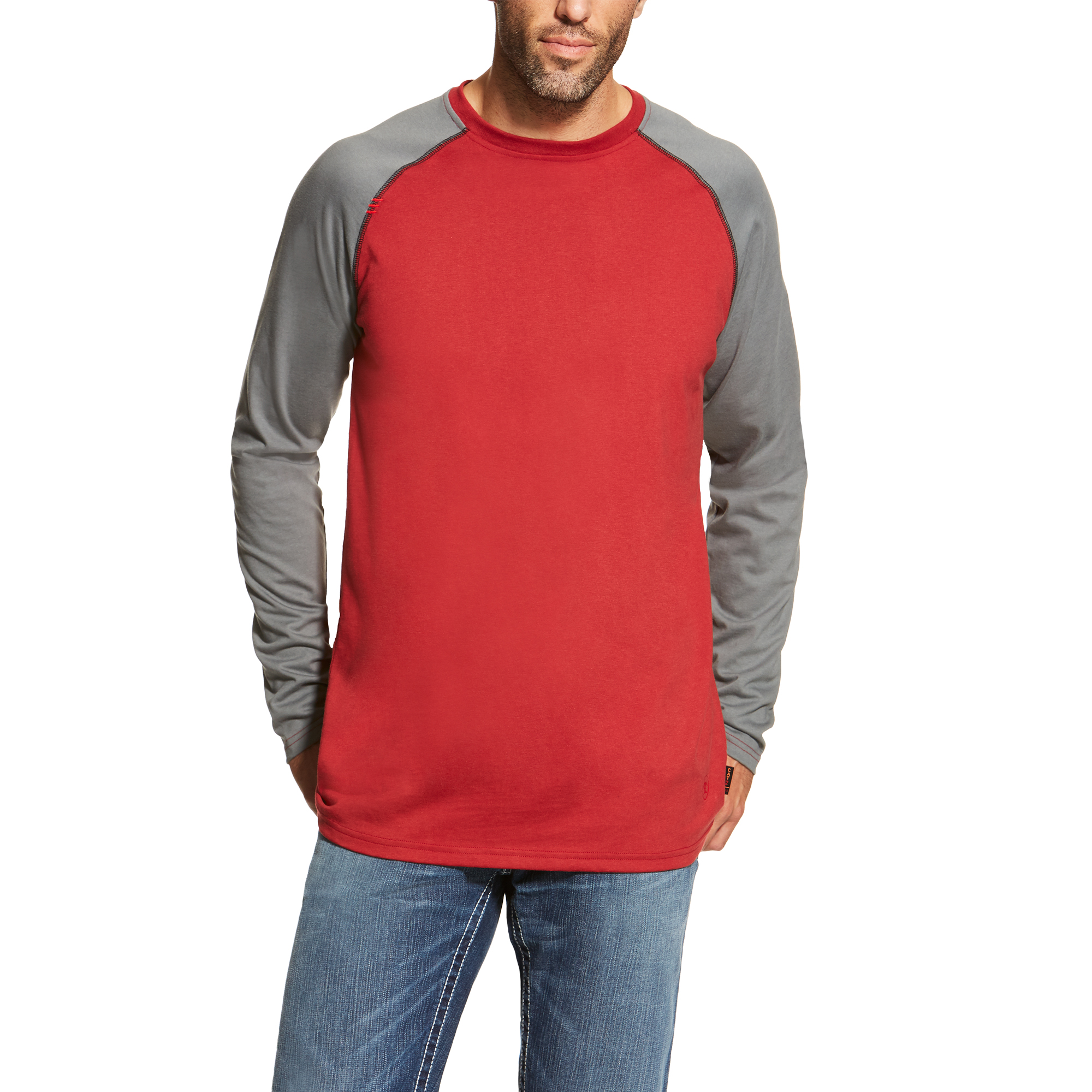 Ariat FR Baseball Tee-Ariat