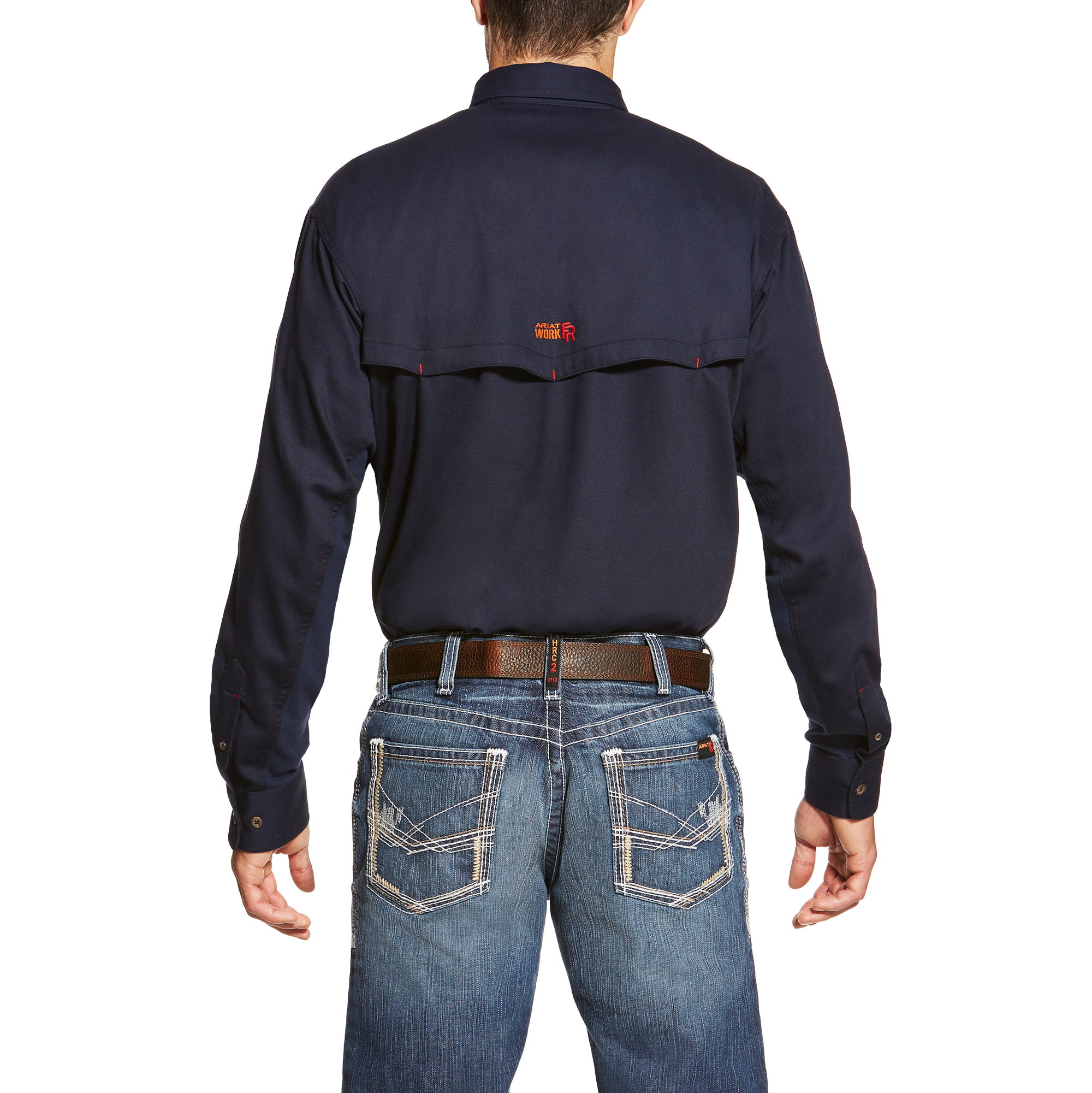 Ariat FR Solid Navy Vent Shirt-