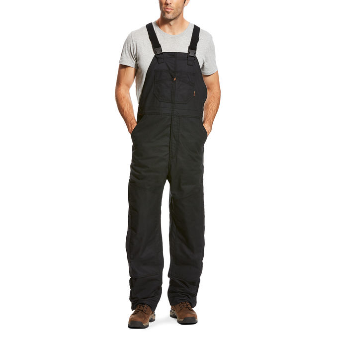 Ariat FR Insulated Overall 2.0 Bib - Black-Ariat