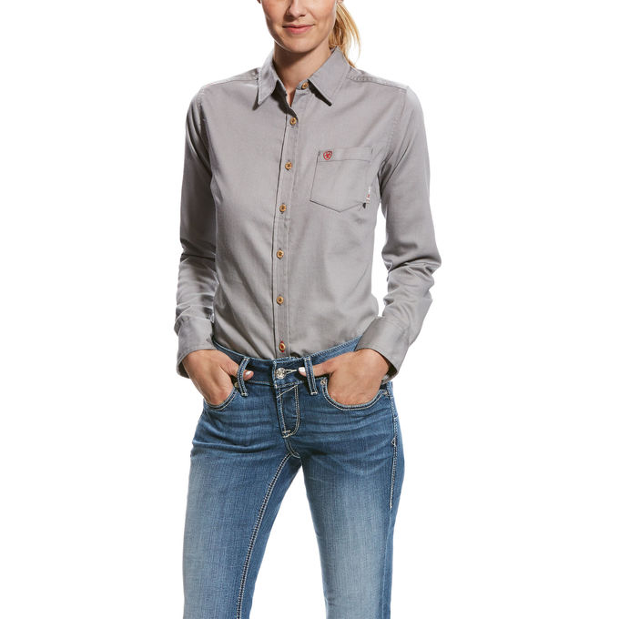 Ariat Women's FR Basic Work Shirt-Ariat