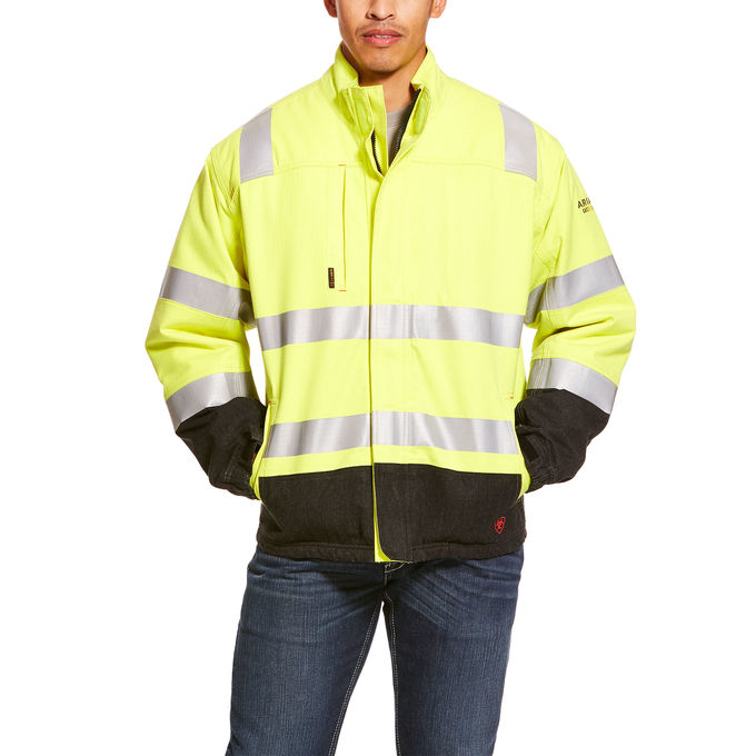 Ariat FR Hi-Vis Waterproof Insulated Jacket-Ariat