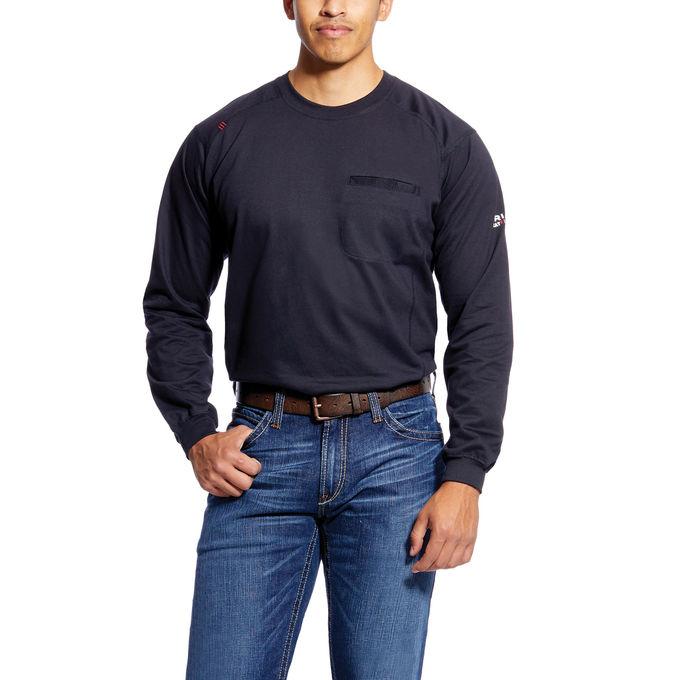 Ariat FR Air Crew T-Shirt Black-Ariat