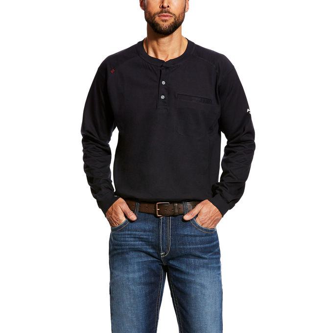 Ariat FR Air Henley Shirt-Ariat