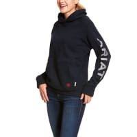 Ariat WOMEN'S FR Primo Fleece Logo Hoodie-Ariat