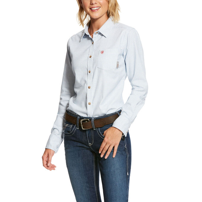 Ariat WOMEN'S FR Hermosa DuraStretch Work Shirt-Ariat