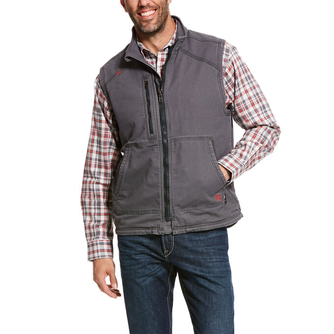 Ariat FR DuraLight Stretch Canvas Vest-Ariat