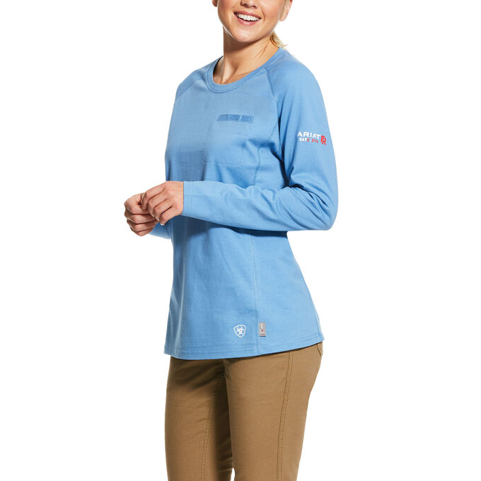 Ariat WOMEN'S FR Air Crew T-Shirt-Ariat