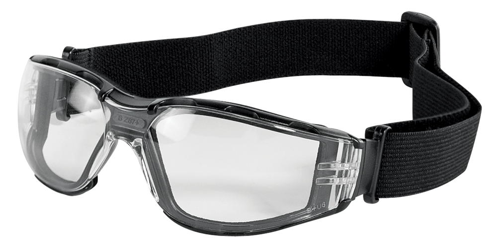 CG5 - Convertible Safety Glasses/Goggles-Bull Head Safety Glasses