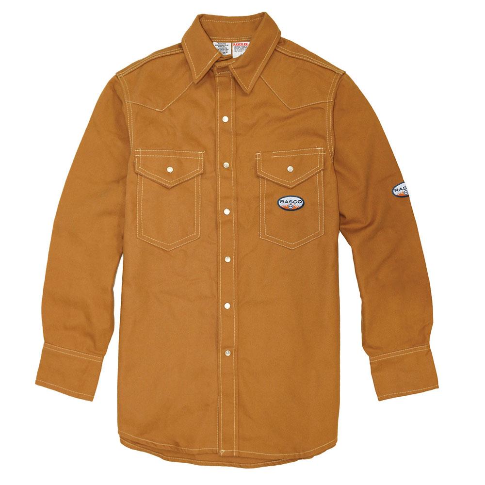 Rasco Heavyweight Work Shirt - Brown Duck-Rasco