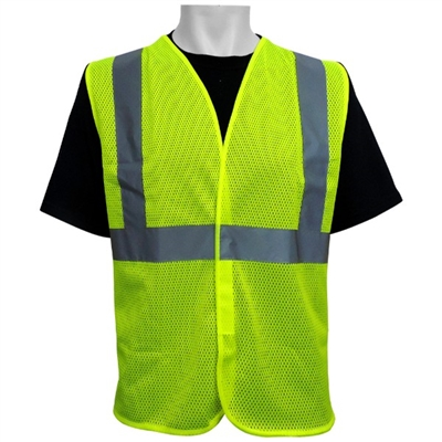 Global Glove ANSI Class 2 Economy Style Vest  -Global Glove